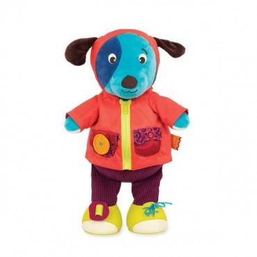 Chichotek z suwakiem PIESEK Giggly Zippies Woofy B. Toys