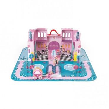 Zamek księżniczki w walizce Janod
