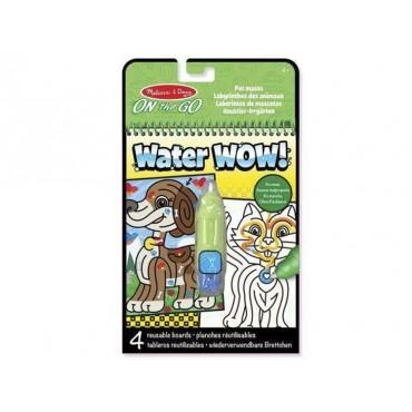 Kolorowanka odna WaterWOW! Zwierzęta domowe Melissa & Doug