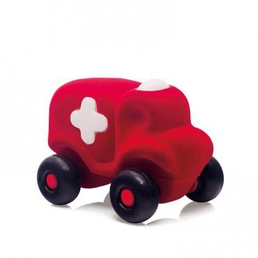 Karetka sensoryczna czerwona Rubbabu