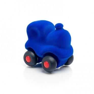 Lokomotywa sensoryczna niebieska mikro Rubbabu