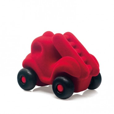 Wóz strażacki sensoryczny czerwony mikro Rubbabu