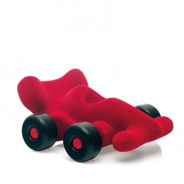 Bolid wyścigowy sensoryczny czerwony mikro Rubbabu