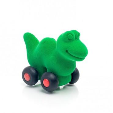 Dinozaur pojazd sensoryczny zielony mikro Rubbabu