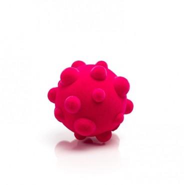 Piłka wirus sensoryczna różowa mała Rubbabu