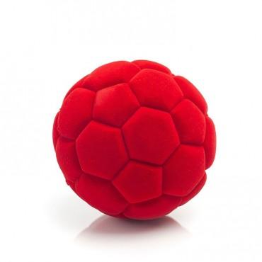 Piłka futbolowa sensoryczna czerwona Rubbabu