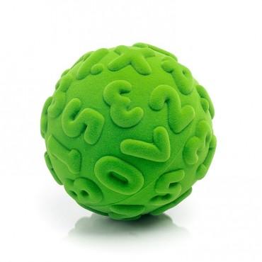 Piłka cyfry sensoryczna zielona Rubbabu