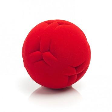 Piłka wycinanki sensoryczna czerwona Rubbabu