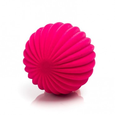 Piłka paski sensoryczna różowa Rubbabu