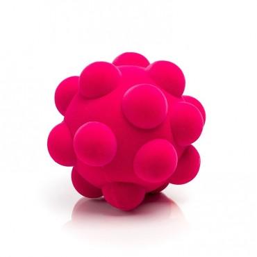 Piłka wirus sensoryczna różowa Rubbabu