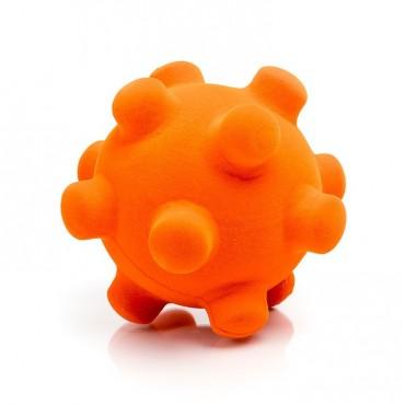 Piłka mina sensoryczna pomarańczowa Rubbabu