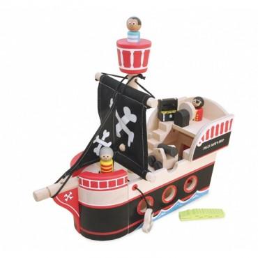 Drewniany statek piracki Jolliego Jacka Indigo Jamm
