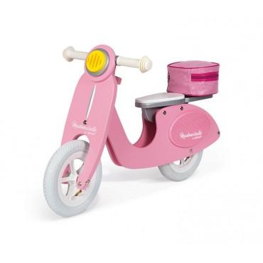 Rowerek biegowy różowy Scooter Mademoiselle Janod
