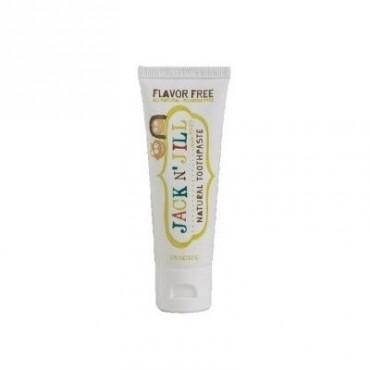 Naturalna, organiczna pasta do zębów dla dzieci, BEZSMAKOWA, 50g Jack N'Jill