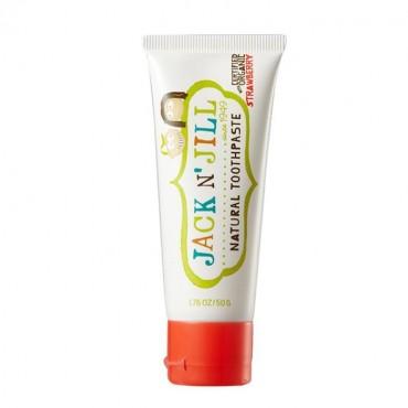 Naturalna, organiczna pasta do zębów dla dzieci, Truskawka 50g Jack N'Jill