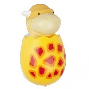 Flipper - uchwyt na szczoteczkę Dino Pachy (żółty)