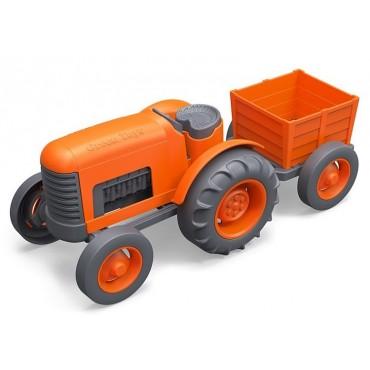Pomarańczowy traktor GTTRT01042 Green Toys
