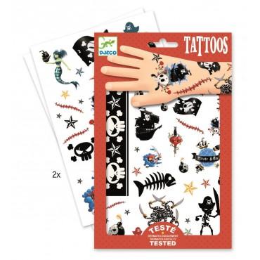 Tatuaże Piraci Djeco