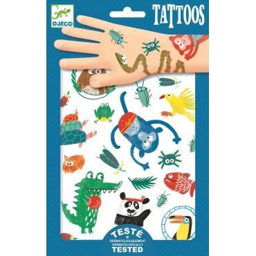 Tatuaże Zwierzaczki Djeco