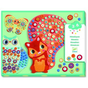 Mozaiki dla maluchów Millefiori Djeco