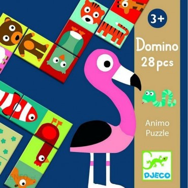 Domino Animo - puzzle Djeco