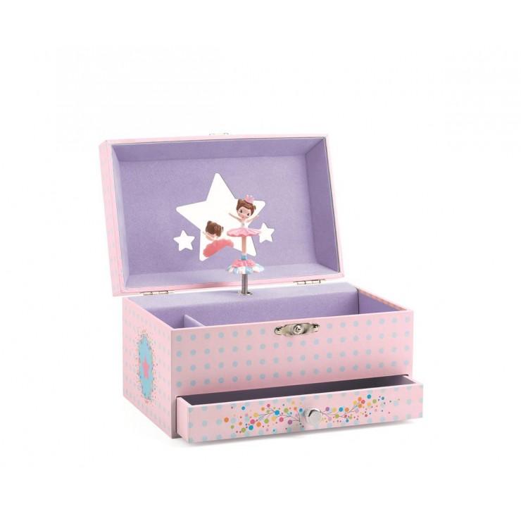 Szkatułka z pozytywką Ballerina Djeco