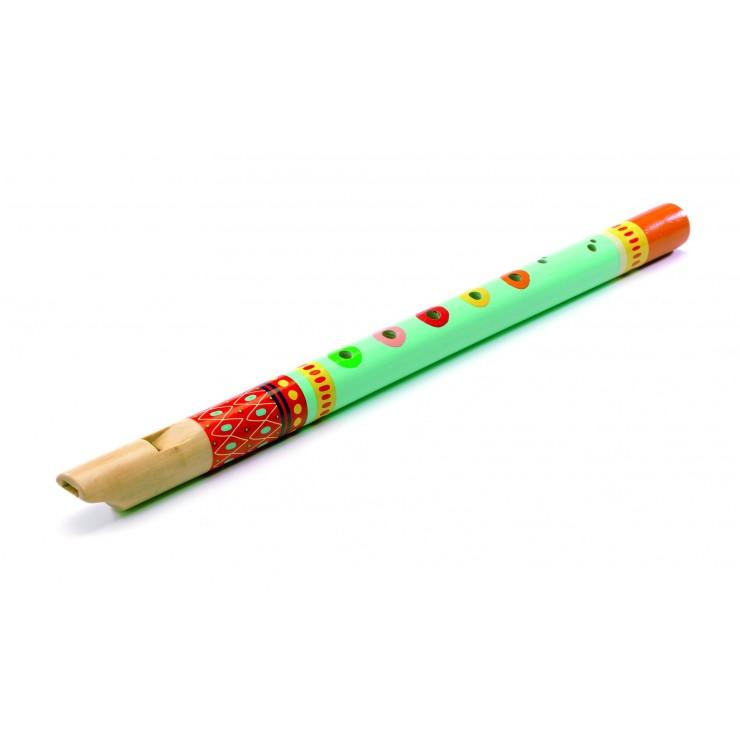 Drewniany flet Animambo Djeco