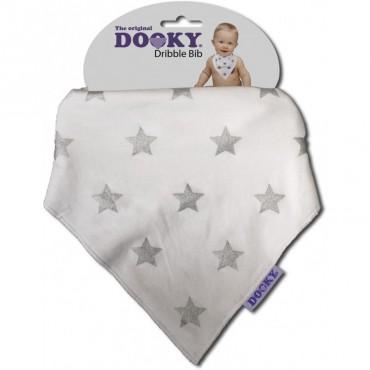 Bandamka Dribble Bib Silver Stars Dooky