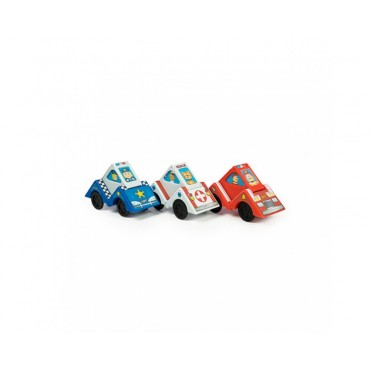 Samochodziki Vroom Blox Fat Brain Toys