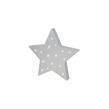 Lampka ledowa szara gwiazdka Jabadabado