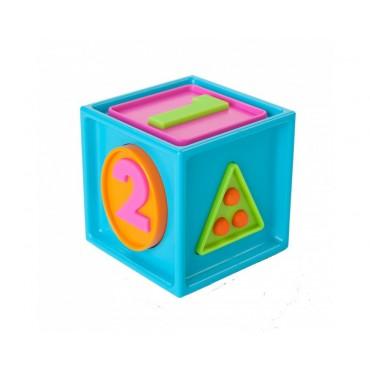 Sześcian Mądrali 1-2-3  Smarty Cube Fat Brain Toys