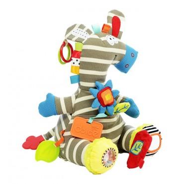 Aktywizująca Zebra zabawka sensoryczna Dolce