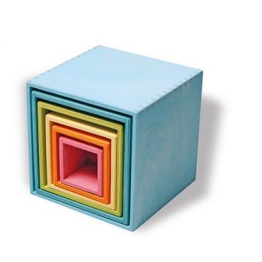 Zestaw pudełek pastelowych 0+  Grimm's