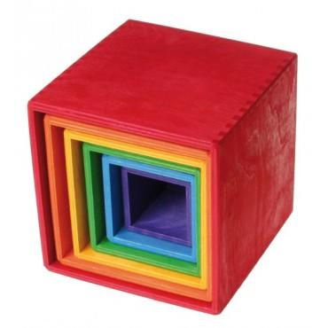 Zestaw pudełek w intensywnych kolorach 0+ Grimm's