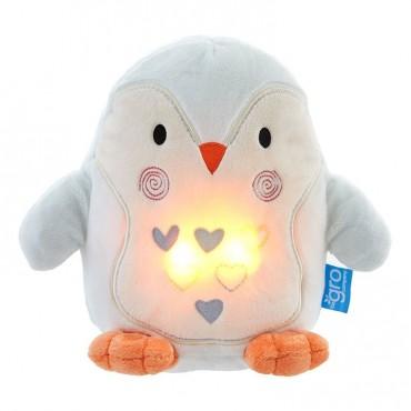 Pingwin Percy Szumiąca Przytulanka z czujnikiem płaczu i lampką nocną Gro Company
