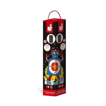Magnetyczna gra w rzutki Roboty Janod