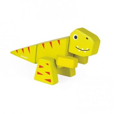 Tyranosaurus drewniany do złożenia Janod