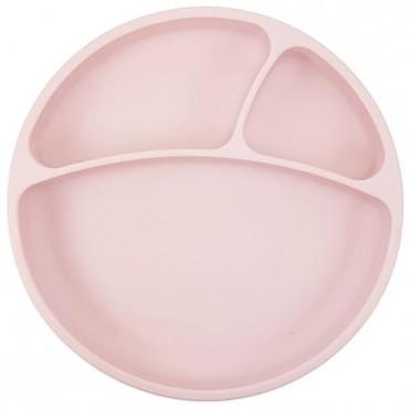 Talerzyk silikonowy różowy Minikoioi