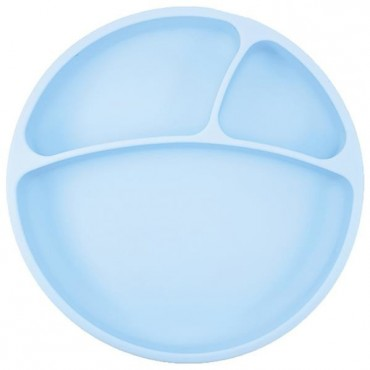 Talerzyk silikonowy niebieski Minikoioi