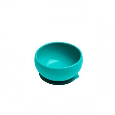 Miseczka silikonowa z pokrywką zielona Minikoioi