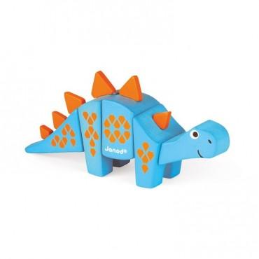 Stegosaurus drewniany do złożenia Janod