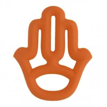 Gryzak silikonowy pomarańczowy Minikoioi