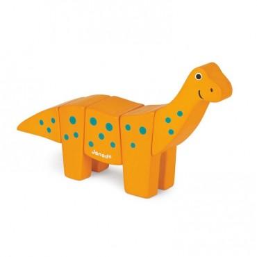 Brachiozaur drewniany do złożenia Janod