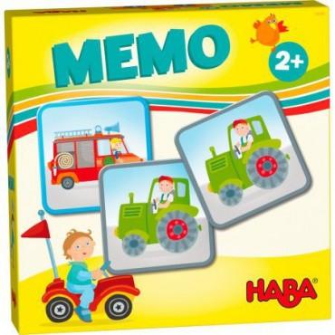Gra Memo Pojazdy Haba