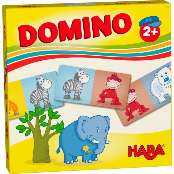 Gra Domino Zwierzęta w zoo Haba