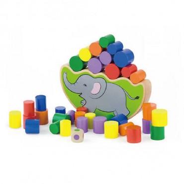 Gra 2w1 - balansujący słoń Viga