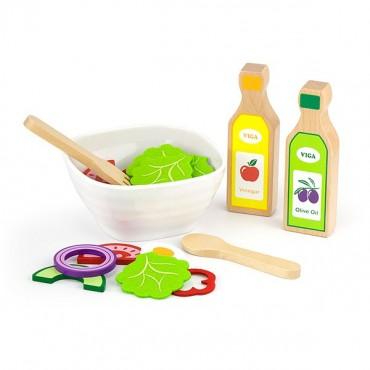 Zestaw mały kucharz - sałatka z przepisami Viga
