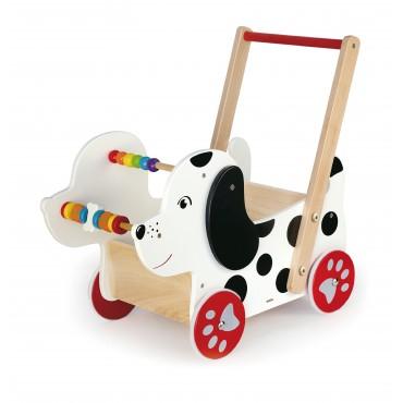 Wózek pchacz edukacyjny piesek Viga