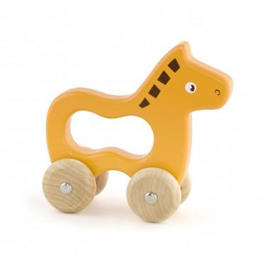 Pierwsza zabawka do rączki - konik Viga