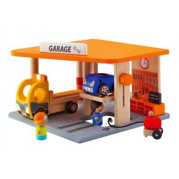 Garaż z akcesoriami Sevi